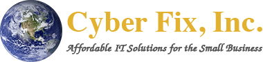 Cyber Fix, Inc. Logo